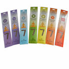 The Seven Chakras Healing Incense Blended with 100% Essential Oils Chakra