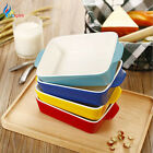 Rectangle Shape Ceramic Non-stick Baking Pans For Microwave Oven Kitchen Tools