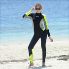 Ladies 3mm Steamer Wetsuits Long Sleeve Fullbody Scuba Dive Wet Suit Womens Surf