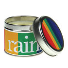 New In-Scents Fragrant Rain bow Gift Tin Candle Range - Rainbow - Various Scents