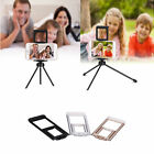 Universal 2-in-1 Tripod Stand Bracket Holder Clip Mount For Phone Tablet Camera