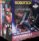 Robotech Macross Super Deformed VF-1J Max / Miriya / VF-1S Fokker Action Figure