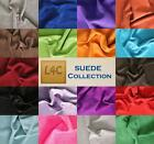 SUEDE LEATHER COLLECTIONS. VARIOUS COLOURS AND SIZES 1.2-1.4MM THICK SOFT FEEL.