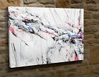 Extra Large Canvas Wall Art Picture Print Abstract Pink Blue Black Grey Red BK28