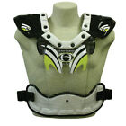 HRP Flak 1000 Yellow Clear Offroad Motorcycle Riding Chest Guard Roost Protector