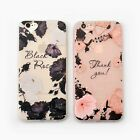 Flower Slim Matte Soft Tpu Silicone Case Cover For iphone6 6S PLUS 7 7PLUS