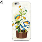 Flower Flowerpot Case Cover for Samsung GalaxyS4 S5 S6 iPhone4 5 6 7Plus Funny