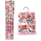 3pk Scented Watercolour Flower Waredrobe Drawer Cupboard Liner Sheet Roll