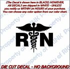 NURSE RN #11 Medical Vinyl Decal Wall Car Truck Window Lapto