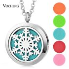 10pcs/lot Essential Oil Diffuser Locket Necklace Stainless Steel VA-259*10