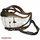 Spooky Pup Hilarious Dog Costume Muzzle with Large Scary Teeth