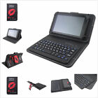 "Wireless Bluetooth Keyboard PU Leather Magnetic Case Cover for 9.7~10.5"" Tablets"