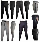 Boys Kids tracksuit bottoms trouser sweatpants jogging with zip 3 to 12 years