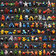 NEW 144pcs Pokemon Toy Set Mini Action Figures Pok�mon Go Monster Gift 2-3cm