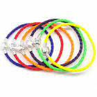 1x Fashion Leather Bracelets Chain Bangle Fit 925 European Charms Beads