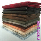 Thicker Solid color Suede Nap Cloth Soft Package Cushion Faux leather Fabric