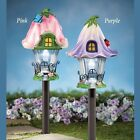 Outdoor Solar Light Stake Yard Pathway Lighted Decoration Spring Garden Ornament