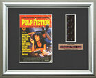 PULP FICTION    John Travolta - Uma Thurman   FRAMED MOVIE FILMCELLS