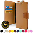 for Galaxy S8 Case, GOOSPERY Sonata Diary Synthetic Leather Flip Wallet Cover
