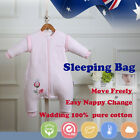 Baby Toddler Kid Sleeping Bag Sleepsuit Winter Spring Autumn 2.5tog 3.5tog Pink