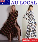 Fashion Flower Women's Formal Evening Prom Party Swing Dress AU Local