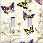 Butterfly Sketching Theme~Light Switch Cover~ Home Decor~Choose Different Sizes~