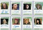 Star Trek The Next Generation TNG Autograph Costume And Sketch Card Selection