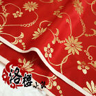 Chinese Dress Baby Clothes Kimono Cos Silk Satin  Sewing Fabric Lotus Flower