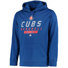 MLB Majestic Chicago Cubs Mens Know Tomorrow Synthetic Pullover Hoodie Jacket