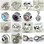 Authentic Solid 925 Sterling Silver Charms Z fit European Bead Charm Bracelets