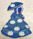 Magnolia Southern Belle Embroidery Iron On Applique  6 x 4 1/2 Different Colors