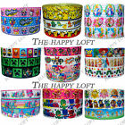 "✜ CARTOON GROSGRAIN RIBBON LOTS OF DESIGNS 7/8"" 22mm Cake Bow Hair Dummy Clips ✜"