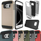 Hybrid Shockproof Slim Armor Rubber Case For Samsung Galaxy S7 S6 Edge Note 5
