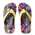 Animal Girls Swish AOP Flip Flops in Multicolour