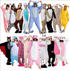 New Adult Animal Cosplay Onesie Unisex Pajamas Kigurumi Sleepwear Costume Suits