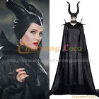 Maleficent Queen Fairy Maleficent Cosplay Costume Halloween Fancy Dress Outfit