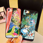 Girl's Cute Alice Rabbit Bling Dynamic Liquid Love Giltter Case Cover for iPhone