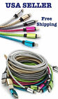 Braided Aluminum Usb Charger Cable Sync Cord For Iphone 7/plus Iphone 6 Iphone 5