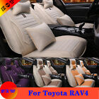 Bring Set 6 Color For Toyota RAV4 Car Seat Cover Protector Headrest Waist Pillow