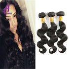 Body Wave 3 Bundles Unprocessed Malaysian Virgin Human Hair Extensions Weave 8A
