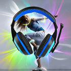 3.5mm Adjustable Gaming Headphones Stereo Noise-canceling Computer Headset XP