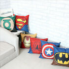 spiderman pillow -  Cushion Cover Superhero Batman Throw Pillow Case Room Sofa Home Décor Gift