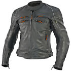 Vulcan VNE98431 Super Soft Cowhide Leather Armored Jacket Thermomix Insulation