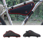Bicycle Cycling Frame Top Tube Front Triangle Saddle Bag MTB Bike Pouch Panniers