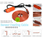 Electric Heating Cable Automatic thermostat Water Pipe Freeze Proof Heated Tape