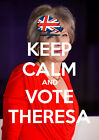 Keep Calm Vote Theresa May, Conservative, Election, Wall Art/Poster/All Sizes 19