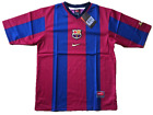 Nike Barcelona Original 1998-99  Home Football Shirt Jersey Barca Spain Kids