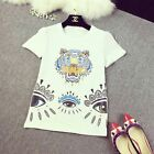 BNWT Fashion Embroider KENZO 'tiger embroidered T-shirt'