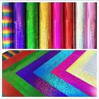 Внешний вид - A4 Sheet Glitter Holographic Iron-on PVC Heat Transfer Vinyl Cutting Film Zaione