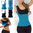 EXTREME Blue slimming body thermo cami hot miss belt Neoprene shaper Vest Sweat